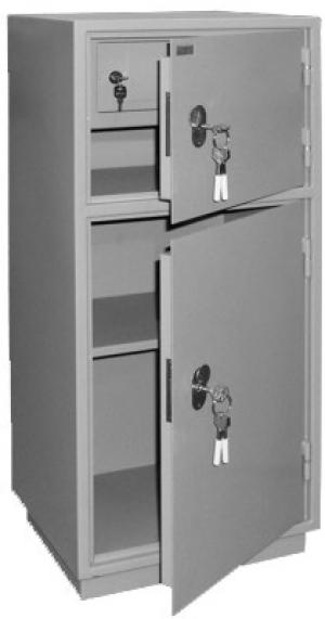 Шкаф металлический бухгалтерский КБ - 042т / КБС - 042т купить на выгодных условиях в Иркутске