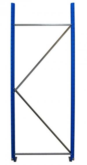 Рама для складского металлического стеллажа 3000x1000 купить на выгодных условиях в Иркутске