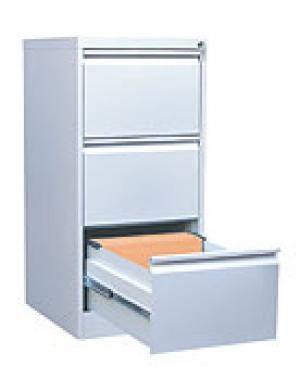 Шкаф металлический картотечный ШК-3 (3 замка) купить на выгодных условиях в Иркутске