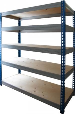 Стеллаж металлический складской 15615-2,0 купить на выгодных условиях в Иркутске